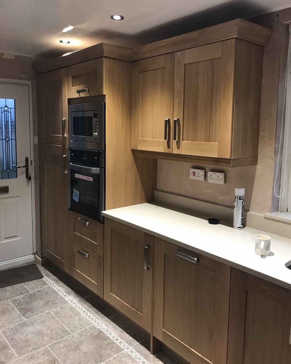 Kitchen Renovation Project in Royton from Wrights Interiors