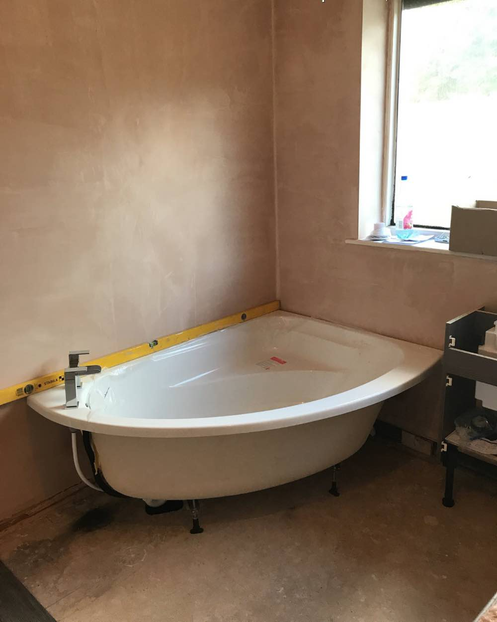 Bathroom installation Project in Shaw from Wrights Interiors