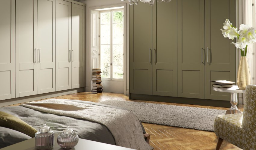 Gresham Olive range, Bedroom fitters in Shaw, Royton, Oldham