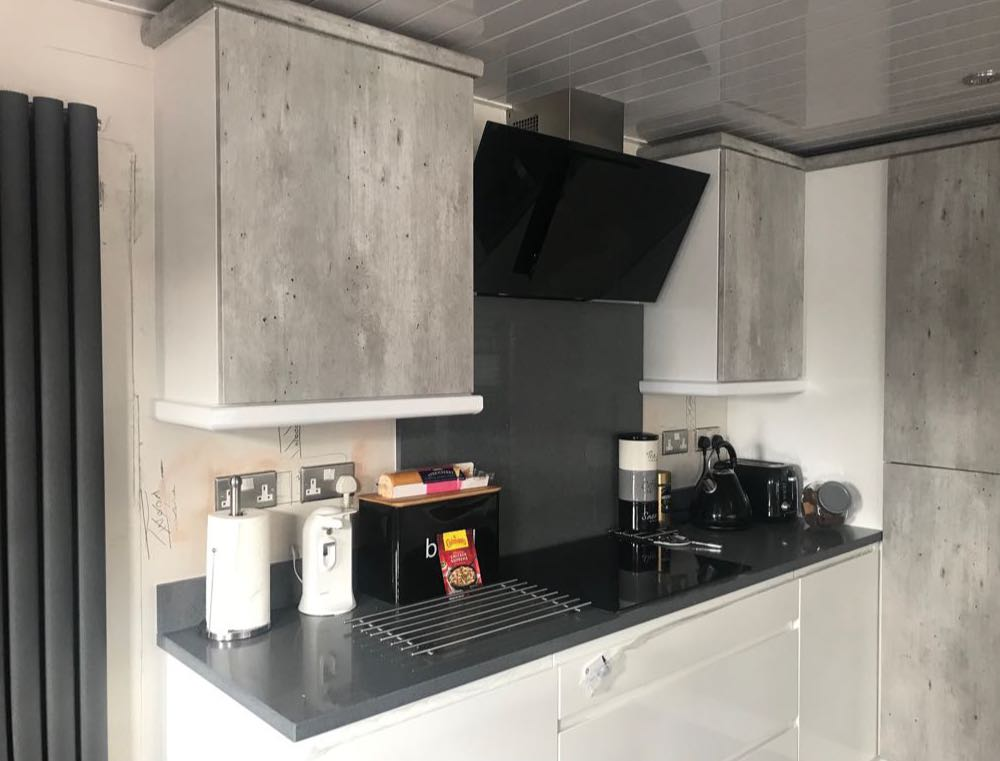 Kitchen installation Project in Shaw from Wrights Interiors
