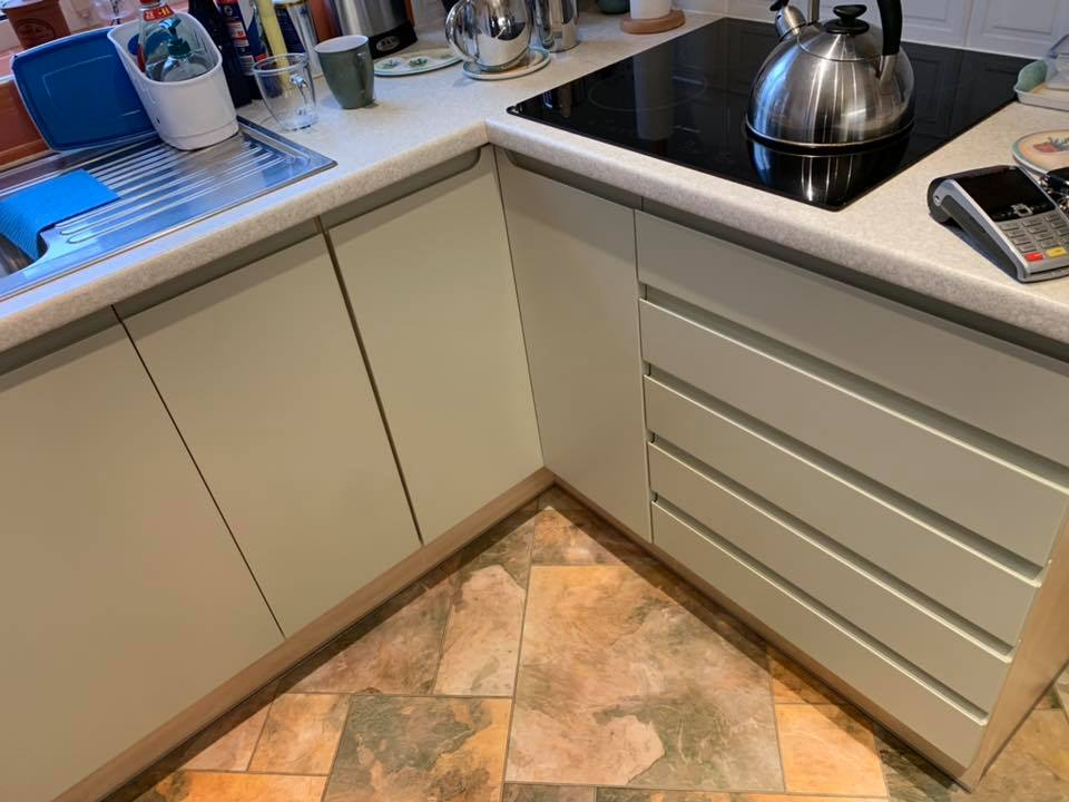 Kitchen Renovation - Sage Green